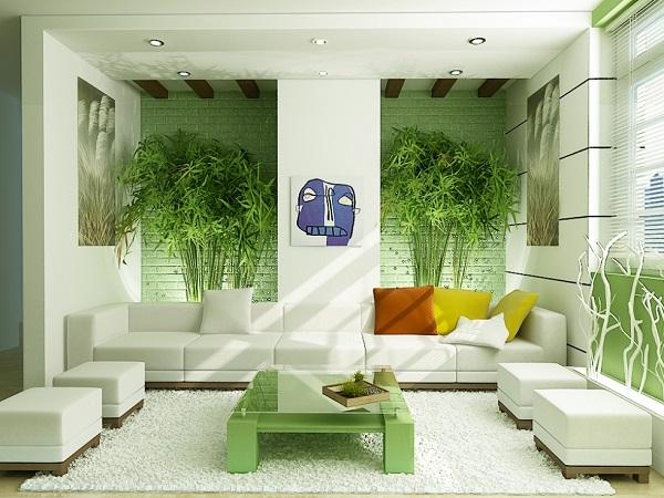 Với những ai yêu thiên nhiên, hẳn không nên bỏ qua cách thiết kế nội thất chung cư giá rẻ này. Những thanh tre, hàng ghế được bố trí đối xứng với nhau tạo nên sự cân bằng – cân bằng về tâm và trí, về cách suy nghĩ và tăng sự lạc quan trong cuộc sống