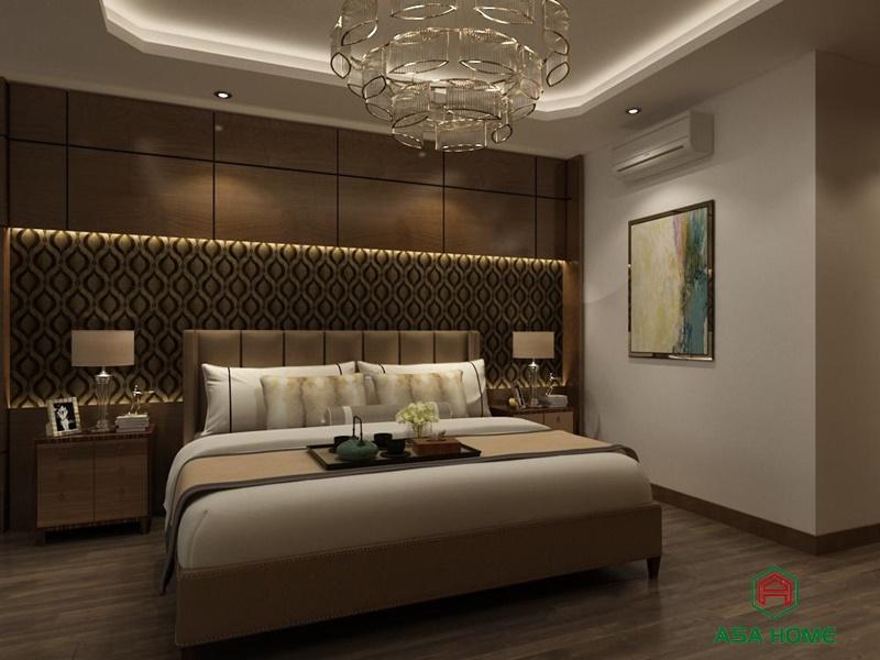 Thiết kế phòng ngủ phong cách cổ điển